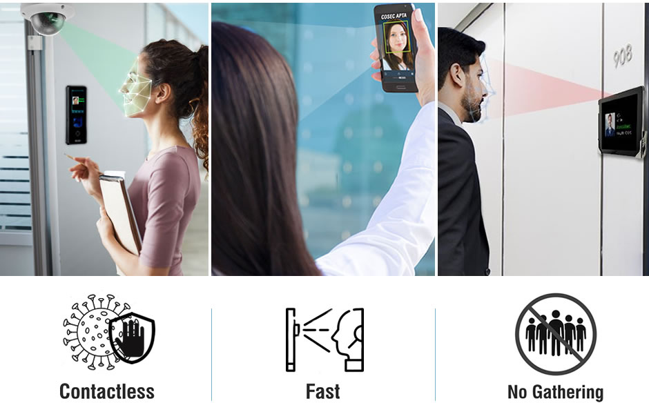 Contactless Face Recognition Solutions