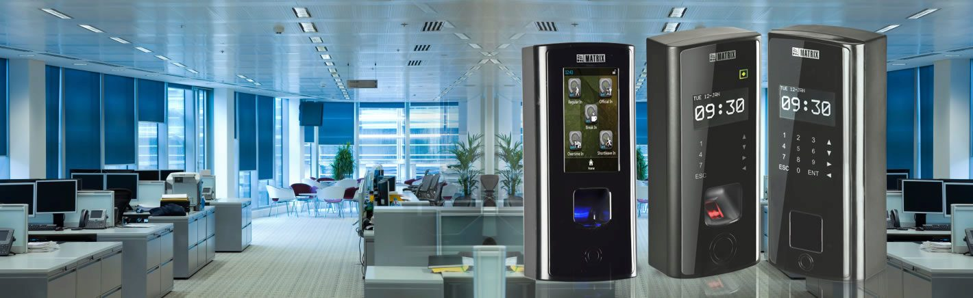 Series of Automatic Door Access Controllers by Matrix