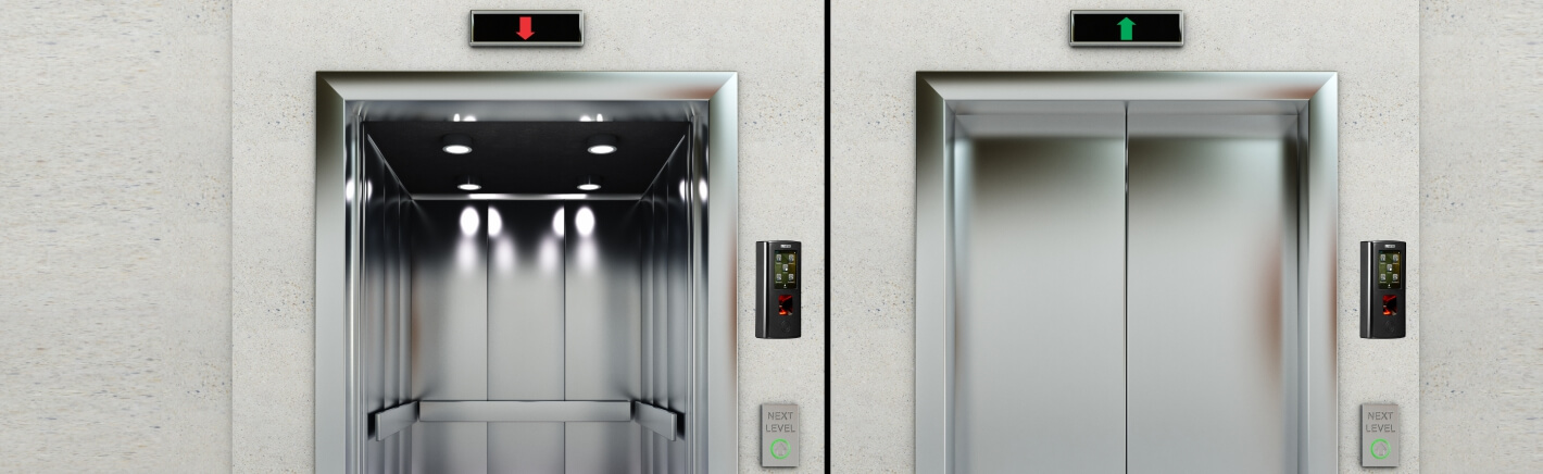 Secured Elevator Access Control System